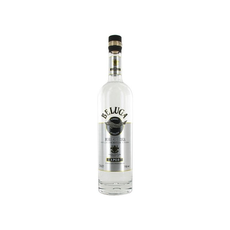 beluga vodka migrating from russian to Send this elegant beluga vodka gift set presented in its own platinum case and  with a limited collectible glass russian vodka is best and this vodka gift set is.