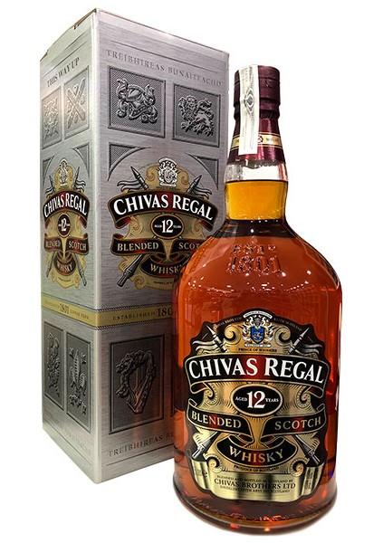 Whisky Chivas 4,5 L