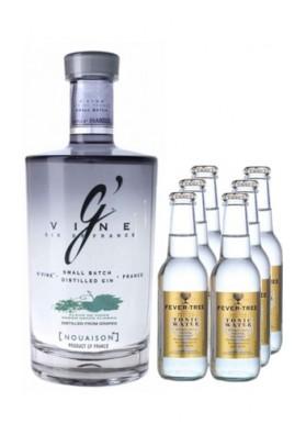 G'Vine Nouaison + 6 Fever Tree | Vinosensis