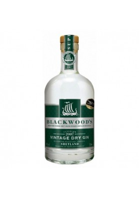Gin de sec vintage de Blackwood des