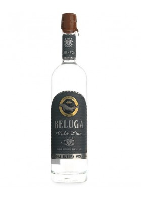 Vodka Beluga rus Noble d'or de